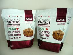 2 Packs Heavenly Hunks Organic Oatmeal Dark Chocolate Cookie