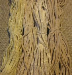 200 strips of #4 Oatmeals Mix felted wool for Rug Hooking or