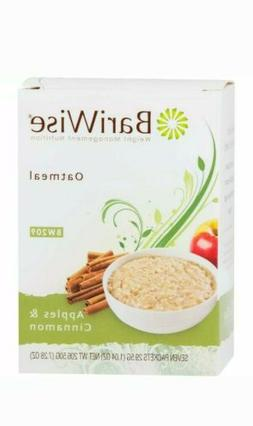3 BariWise Low-Carb High Protein Oatmeal - Apples & Cinnamon
