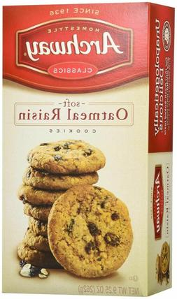 4X Archway Soft Oatmeal Raisin Cookies 9.25 oz Homestyle Cla