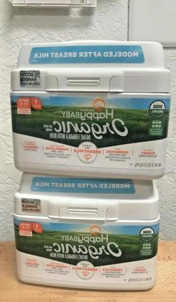 6 Tubs Happy Baby Organic Infant Formular w/ Iron Stage 1