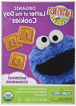 Earth's Best, Sesame Street Organic Cookies, Oatmeal Cinnamo