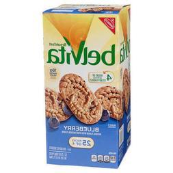 Belvita Breakfast Biscuits, Blueberry 1.76 oz.25 Packs of 4