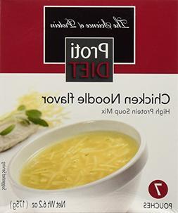 ProtiDiet Chicken Noodle Soup, 7 pouches, Net Wt. 6.2 oz.