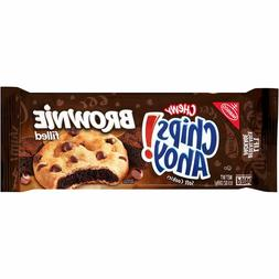 Nabisco Chips Ahoy! Chewy Chocolate Chip Cookies, Brownie Fi