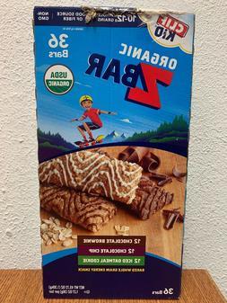 Clif Kid Organic Zbar Chocolate Brownie Chip Iced Oatmeal Co