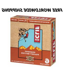 Clif Bar Crunchy Peanut Butter Energy Granola Bars 6 Ct WORL