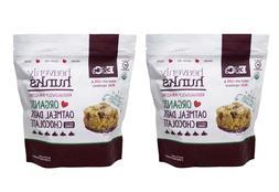 E&C's Heavenly Hunks Organic Oatmeal Dark Chocolate Cookies,