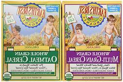 Earth's Best Organic Whole Grain Oatmeal and Multi-grain Cer