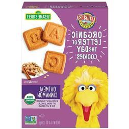 Earth's Best NON-GMO Organic Sesame Street Toddler Letter Co