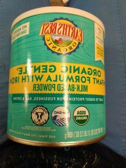 Earth's Best Organic Gentle  Milk Based Infant Powder Formul