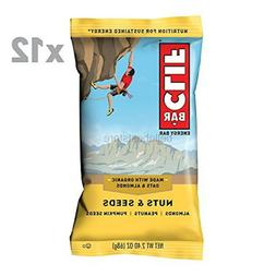 CLIF BAR - Energy Bar - Nuts & Seeds -
