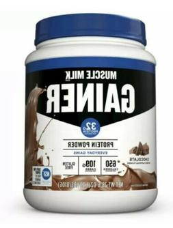 Muscle Milk Gainer Chocolate Flavored 650 calories &109 g ca