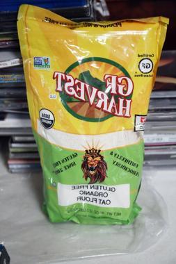 GF Harvest Gluten Free Nut Free Whole Grain Organic Oat Flou