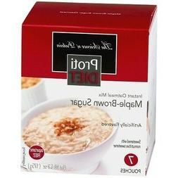 ProtiDiet - High Protein Diet Oatmeal | Maple-Brown Sugar |