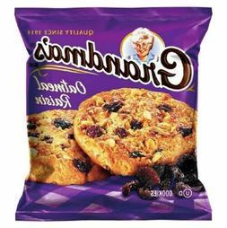 Grandma's Homestyle Oatmeal Raisin Cookies 2.5 oz Bags - Pac