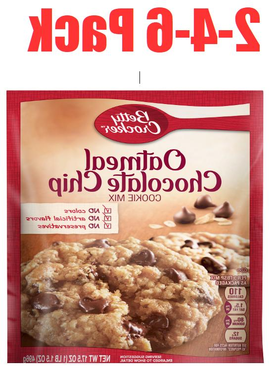 Betty Crocker Oatmeal Chocolate Chip Cookie Mix, Baking Mix