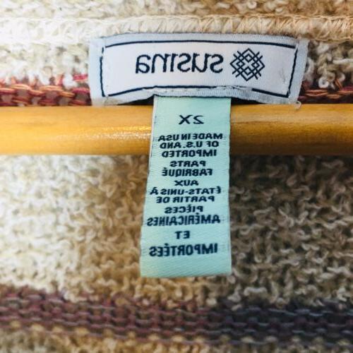 Susina Sweater NWT size