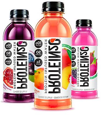 Delicious Fruit Flavored Protein Infused Waters 10g Whey Pro