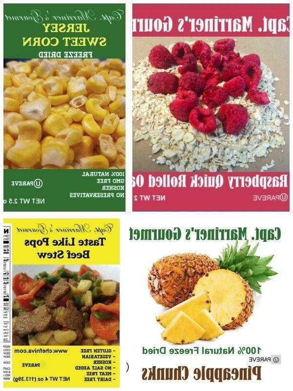 Emergency Food 120 For 2 Bonus 6 Oatmeals