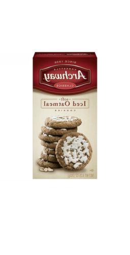 iced oatmeal cookies soft