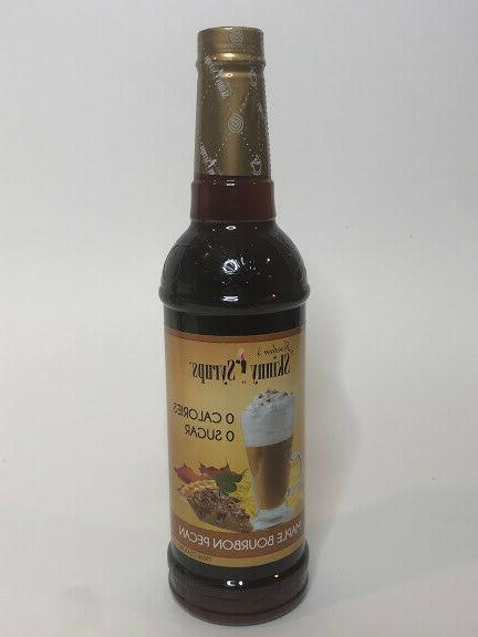jordan s skinny syrups maple bourbon pecan