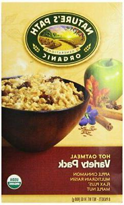Nature's Path Organic Instant Hot Oatmeal Variety Pack -- 8
