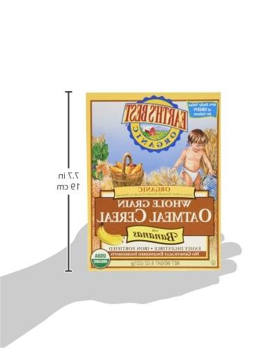 Earth's Best Oatmeal with & Multi-grain Cereal