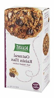 Kashi Oatmeal Raisin Flax Cookies 8.5 oz