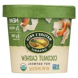 Nature's Path Organic Hot Oatmeal - Coconut Cashew - Case Of
