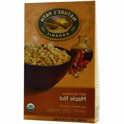 Nature's Path Organic Maple Nut Oatmeal 14 Oz. 8 Packets