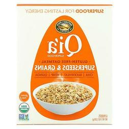 Nature's Path Organic Qi'A Superfood Hot Oatmeal Case of 6 -