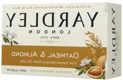 Yardley Oatmeal and Almond Bar Soap, 4.25 Oz.