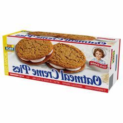 Little Debbie Oatmeal Creme Pies, Big Pack, 12 HUGE Cookies,