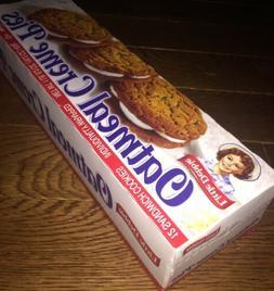 1 Little Debbie Oatmeal Creme Pies Box 12 Sandwich Cookies C