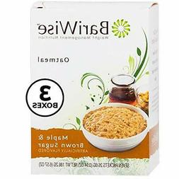 BariWise Oatmeal / Instant Diet Hot Oatmeals Maple Brown & B