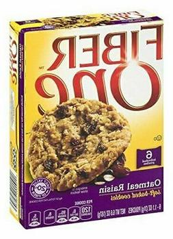 Fiber One? Oatmeal Raisin Soft-Baked Cookies 6 ct. Box