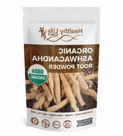 Organic Ashwagandha Root Powder USDA Organic Indian Ginseng