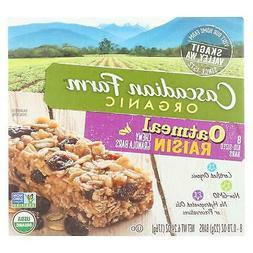 Cascadian Farm Organic Chewy Granola Bars - Oatmeal Raisin -