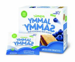 Plum Kids Organic Jammy Sammy Blueberry And Oatmeal 5-Count