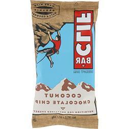 Clif Bar Organic Nutritional Bar, Coconut Chocolate Chip, 2.