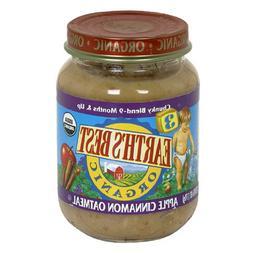 Earth's Best Organic Stage 3, Apple Cinnamon Oatmeal, 6 Ounc