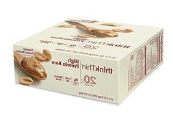 thinkThin High Protein Bars, Creamy Peanut Butter, 2.1 Ounce