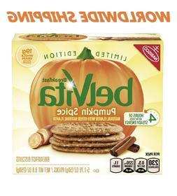 Belvita Pumpkin Spice Breakfast Biscuits Ltd Edition 5 Ct 8.