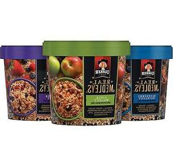 Quaker Real Medleys Oatmeal+, Variety Pack, Instant Oatmeal+