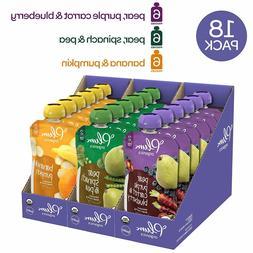 Plum Organics Stage 2, Organic Baby Food, Fruit and Veggie V