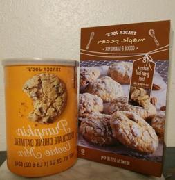Trader Joe's Cookie Mixes Maple Pecan & Pumpkin Chocolate Ch