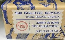 Trader Joe's Oatmeal Exfoliant   Bar Soap made in France Alm