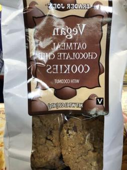 Trader Joe's TJ's Oatmeal Cookies Vegan NEW